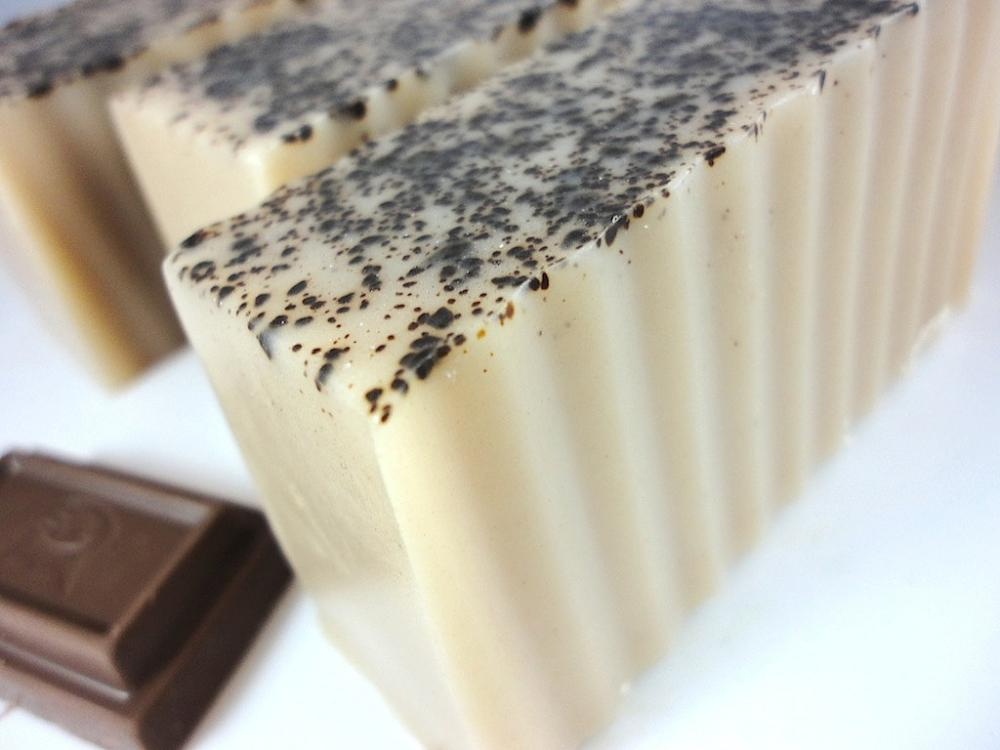 Chocolate Indulgence Soap - Made with Shea Butter and Sweet Natural Chocolate