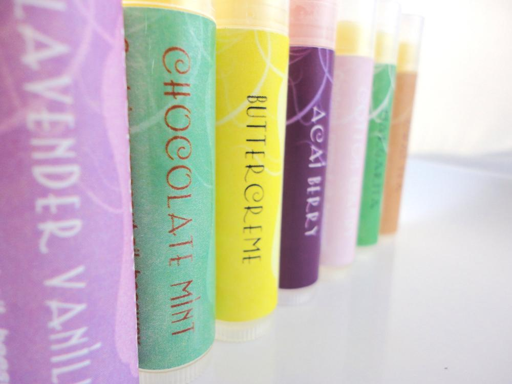 Lip Balm Addicts - You Choose 4 Tubes