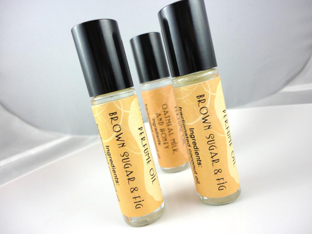 Brown Sugar and Fig Perfume Oil - Roll On Perfume