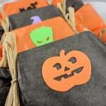 Halloween Party Favor - 10 Custom Wrapped Soap Favors - Great Alternative To Candy