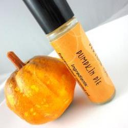 Pumpkin Pie Perfume Oil - Pumpkin, Nutmeg, Vanilla - Limited Edition