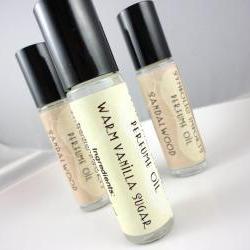 Warm Vanilla Sugar Perfume Oil - Roll On Perfume